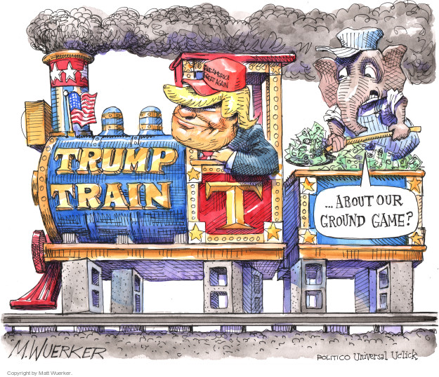 Matt Wuerker  Matt Wuerker's Editorial Cartoons 2016-08-26 Donald Trump