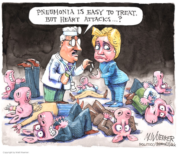 Cartoonist Matt Wuerker  Matt Wuerker's Editorial Cartoons 2016-09-13 Secretary of State