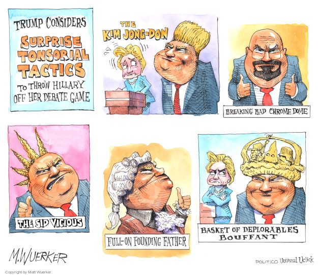 Cartoonist Matt Wuerker  Matt Wuerker's Editorial Cartoons 2016-09-26 founding father