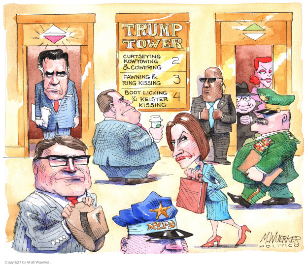 Matt Wuerker  Matt Wuerker's Editorial Cartoons 2016-12-14 Mitt Romney