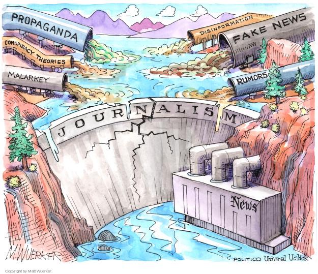 Matt Wuerker  Matt Wuerker's Editorial Cartoons 2016-12-22 misinformation
