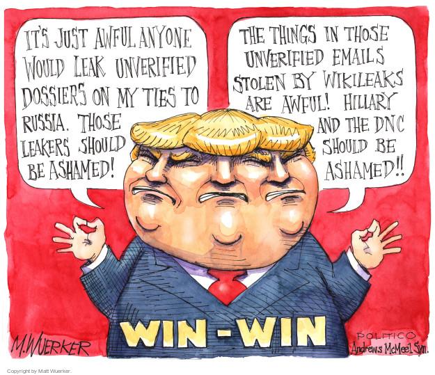 Matt Wuerker  Matt Wuerker's Editorial Cartoons 2017-01-13 editorial