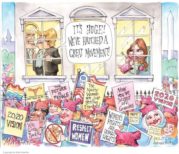 Cartoonist Matt Wuerker  Matt Wuerker's Editorial Cartoons 2017-01-23 respect