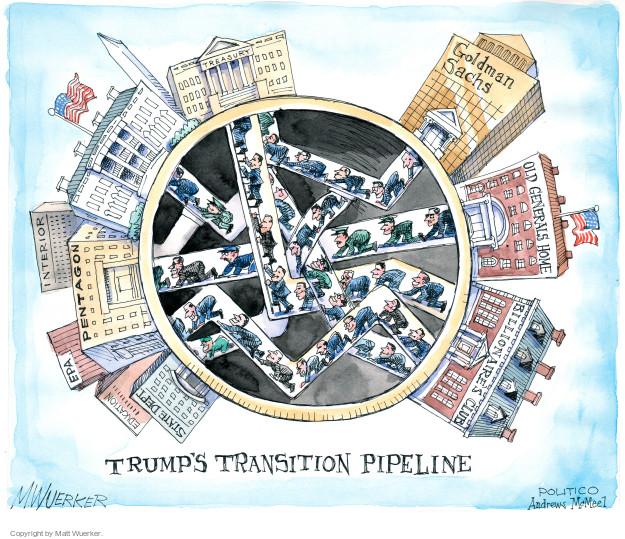 Cartoonist Matt Wuerker  Matt Wuerker's Editorial Cartoons 2017-01-26 president