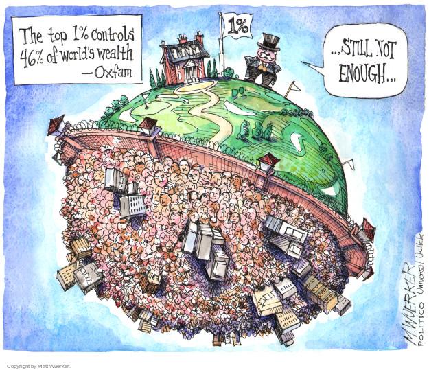 Matt Wuerker  Matt Wuerker's Editorial Cartoons 2014-01-24 affluent
