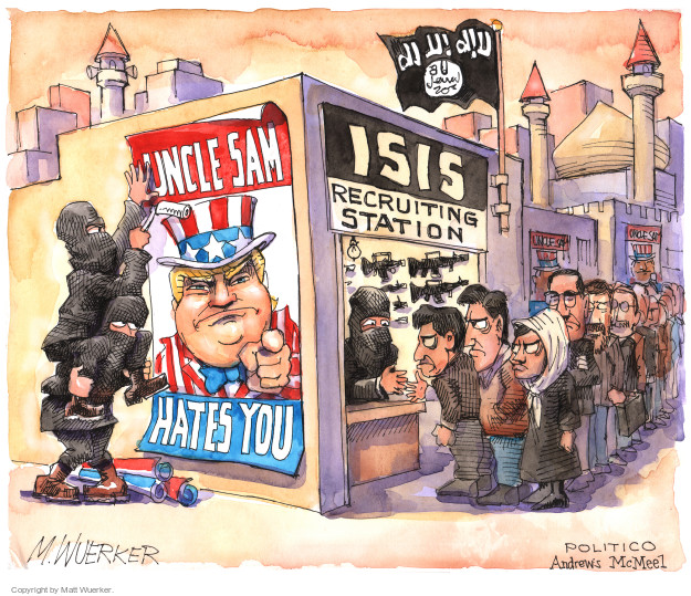 Cartoonist Matt Wuerker  Matt Wuerker's Editorial Cartoons 2017-01-31 security
