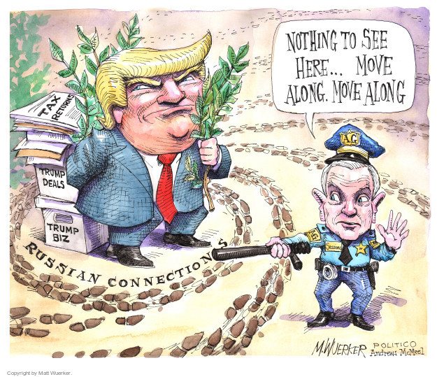 Cartoonist Matt Wuerker  Matt Wuerker's Editorial Cartoons 2017-02-16 Donald Trump taxes