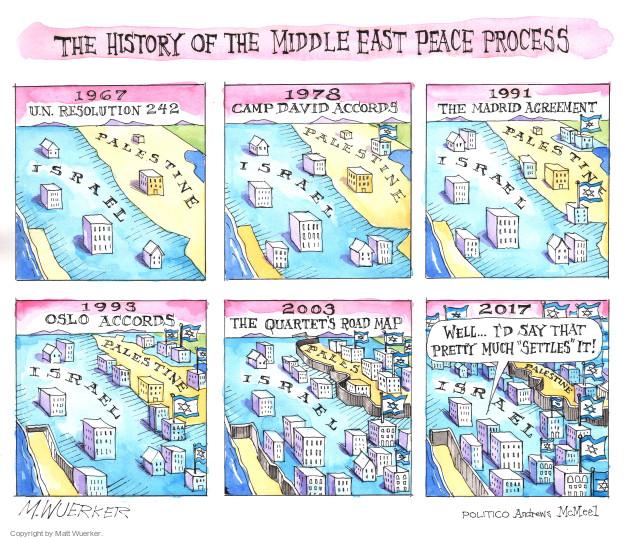 Matt Wuerker  Matt Wuerker's Editorial Cartoons 2017-02-15 historical