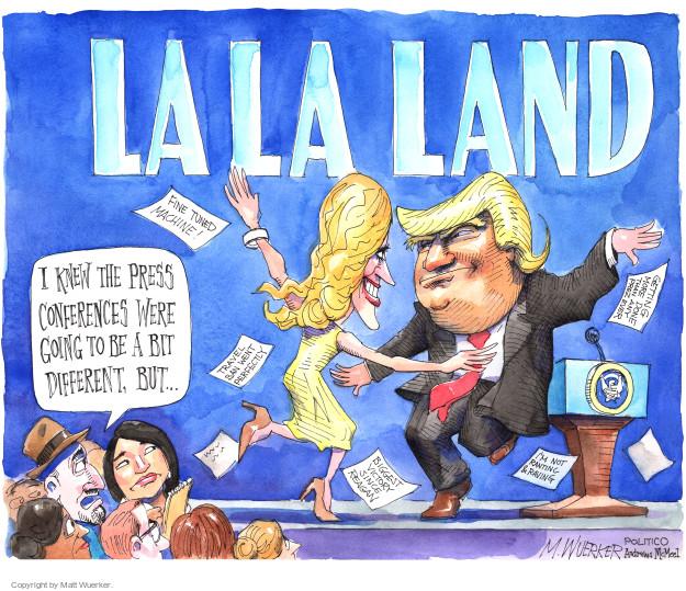 Cartoonist Matt Wuerker  Matt Wuerker's Editorial Cartoons 2017-02-19 president