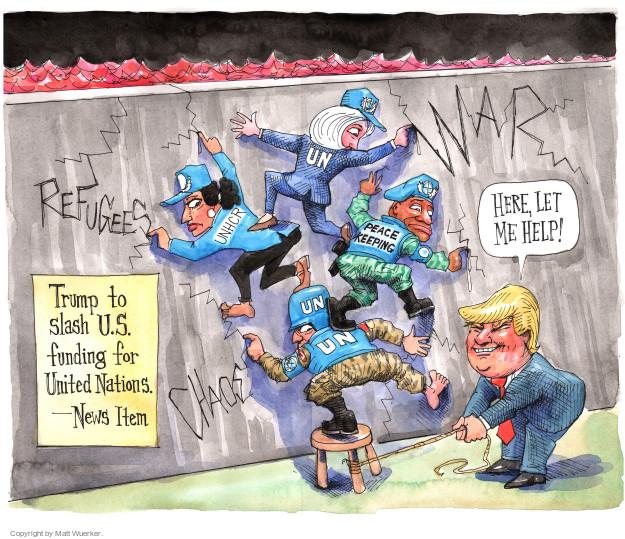 Cartoonist Matt Wuerker  Matt Wuerker's Editorial Cartoons 2017-02-07 president