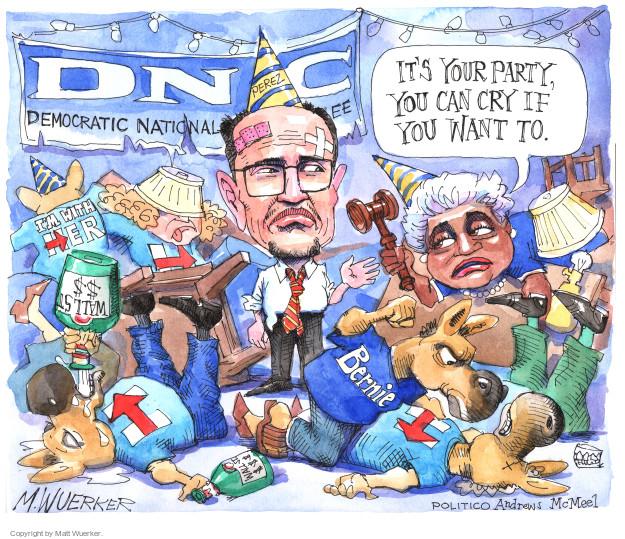Matt Wuerker  Matt Wuerker's Editorial Cartoons 2017-02-28 Bernie Sanders