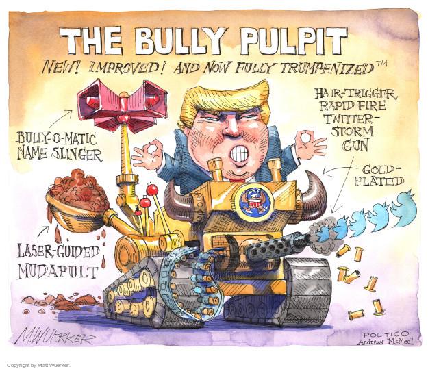 Cartoonist Matt Wuerker  Matt Wuerker's Editorial Cartoons 2017-03-01 storm