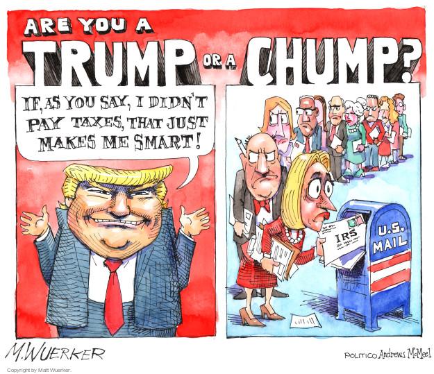 Matt Wuerker  Matt Wuerker's Editorial Cartoons 2017-04-18 Presidency