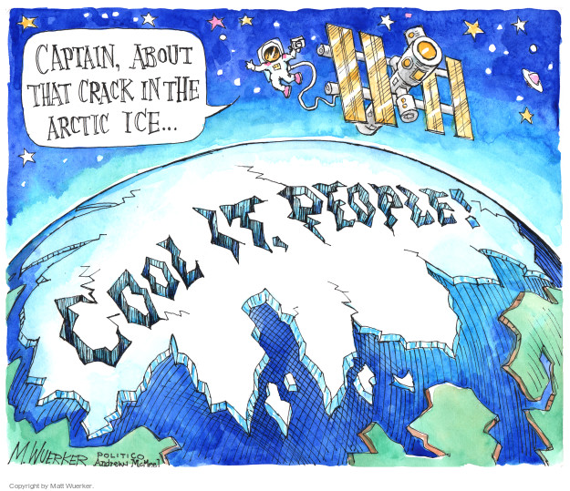 Matt Wuerker  Matt Wuerker's Editorial Cartoons 2017-04-21 destruction