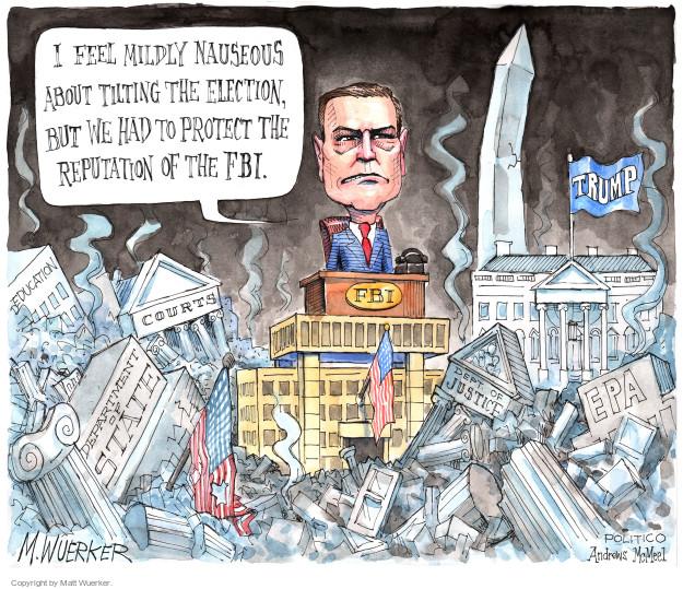 Cartoonist Matt Wuerker  Matt Wuerker's Editorial Cartoons 2017-05-04 State Department