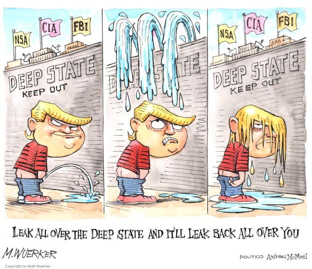 Cartoonist Matt Wuerker  Matt Wuerker's Editorial Cartoons 2017-05-30 CIA