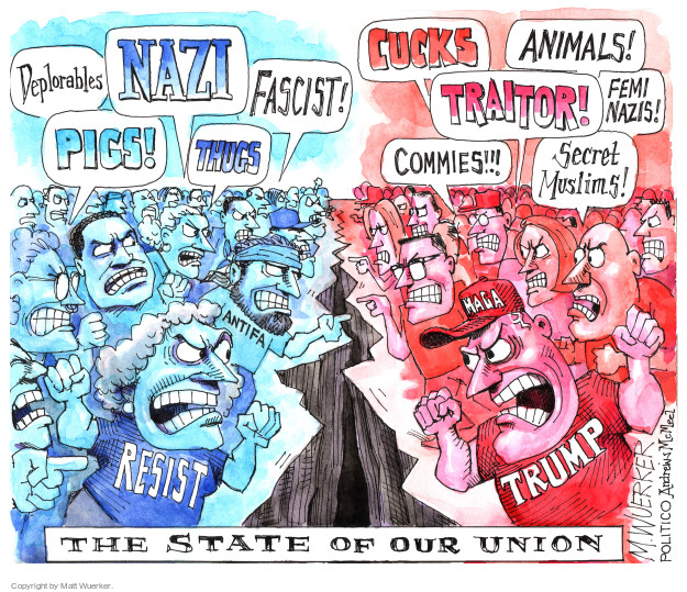 Cartoonist Matt Wuerker  Matt Wuerker's Editorial Cartoons 2017-06-15 commie