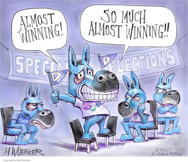 Cartoonist Matt Wuerker  Matt Wuerker's Editorial Cartoons 2017-06-22 editorial