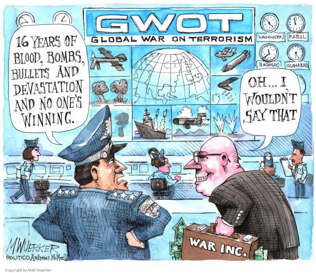 Matt Wuerker  Matt Wuerker's Editorial Cartoons 2017-06-26 profiteer