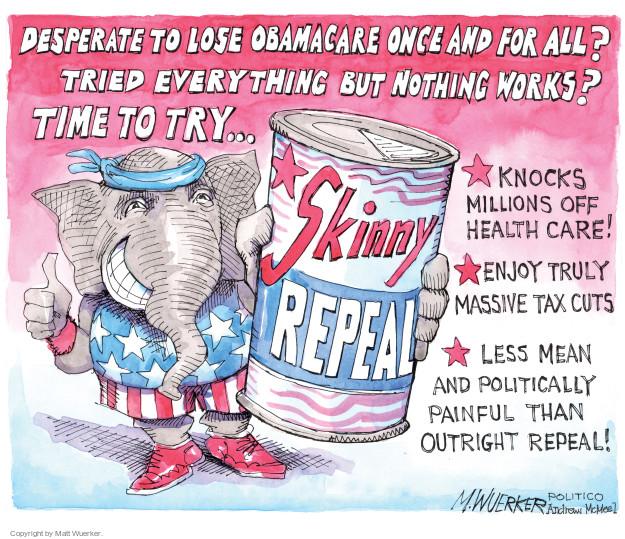 Matt Wuerker  Matt Wuerker's Editorial Cartoons 2017-07-28 tax
