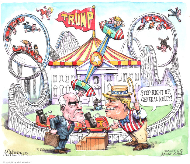 Cartoonist Matt Wuerker  Matt Wuerker's Editorial Cartoons 2017-08-02 president