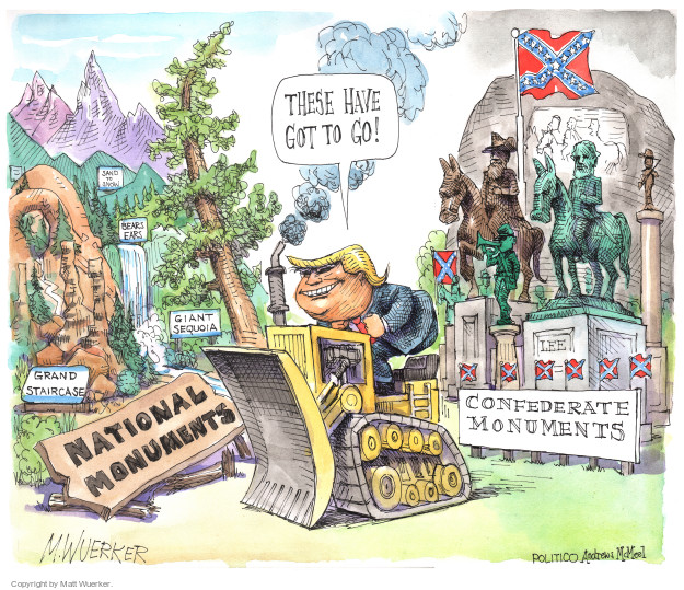 Cartoonist Matt Wuerker  Matt Wuerker's Editorial Cartoons 2017-08-17 president