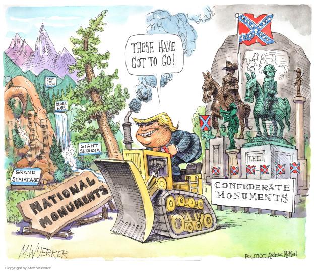 Matt Wuerker  Matt Wuerker's Editorial Cartoons 2017-08-17 Donald Trump