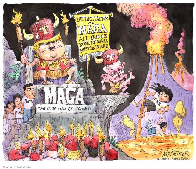 Matt Wuerker  Matt Wuerker's Editorial Cartoons 2017-09-07 former president