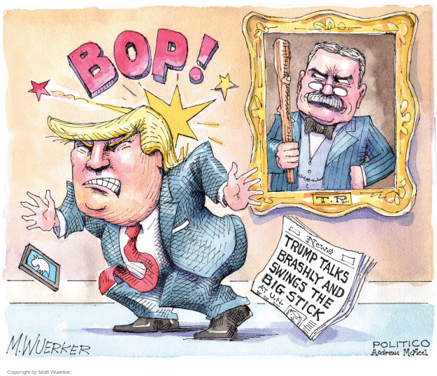 Cartoonist Matt Wuerker  Matt Wuerker's Editorial Cartoons 2017-09-20 president