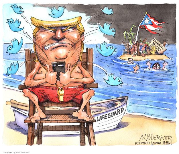 Cartoonist Matt Wuerker  Matt Wuerker's Editorial Cartoons 2017-09-27 tweet