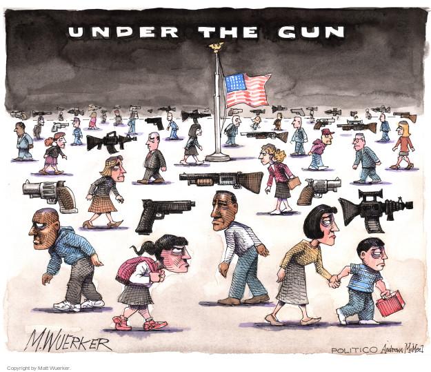 Matt Wuerker  Matt Wuerker's Editorial Cartoons 2017-10-03 gun control