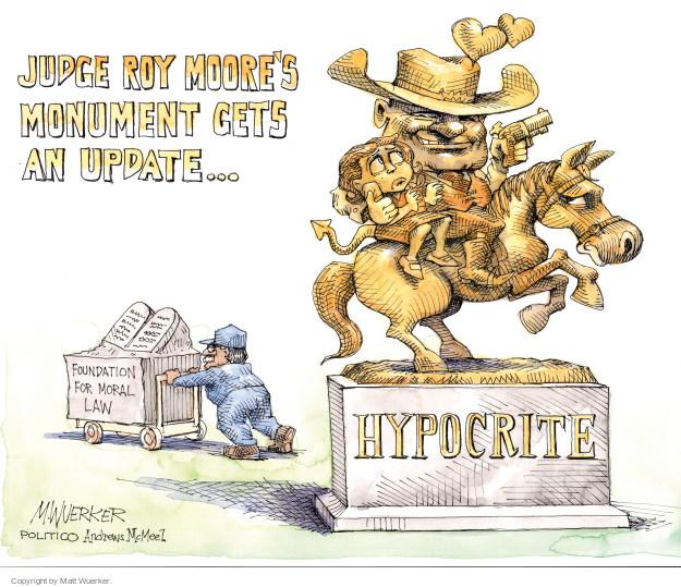 Matt Wuerker  Matt Wuerker's Editorial Cartoons 2017-11-10 republican candidate
