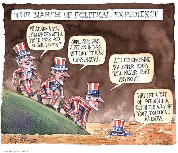 Matt Wuerker  Matt Wuerker's Editorial Cartoons 2017-11-16 Bill Clinton