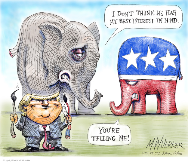 Matt Wuerker  Matt Wuerker's Editorial Cartoons 2017-11-21 republican president