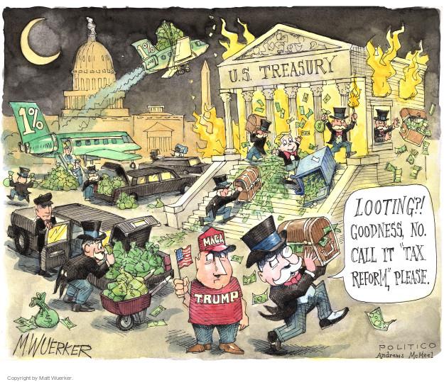 Cartoonist Matt Wuerker  Matt Wuerker's Editorial Cartoons 2017-12-05 legislative branch