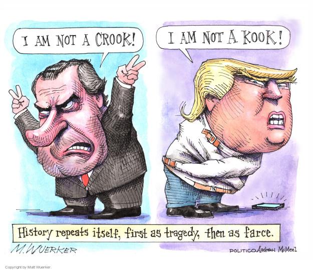 Matt Wuerker  Matt Wuerker's Editorial Cartoons 2018-01-08 former president