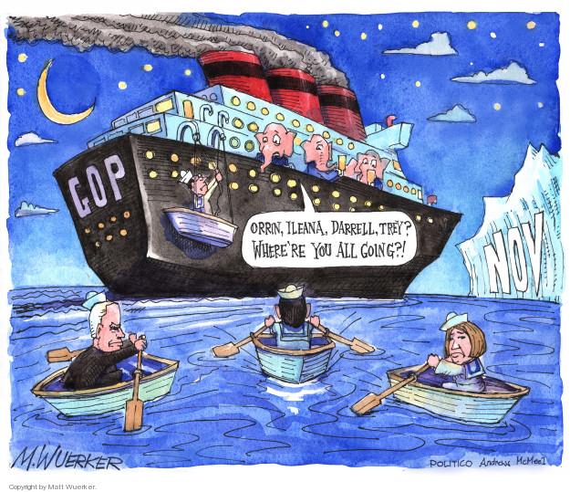 Cartoonist Matt Wuerker  Matt Wuerker's Editorial Cartoons 2018-02-01 conservatism