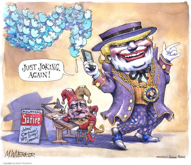 Cartoonist Matt Wuerker  Matt Wuerker's Editorial Cartoons 2018-03-05 social media