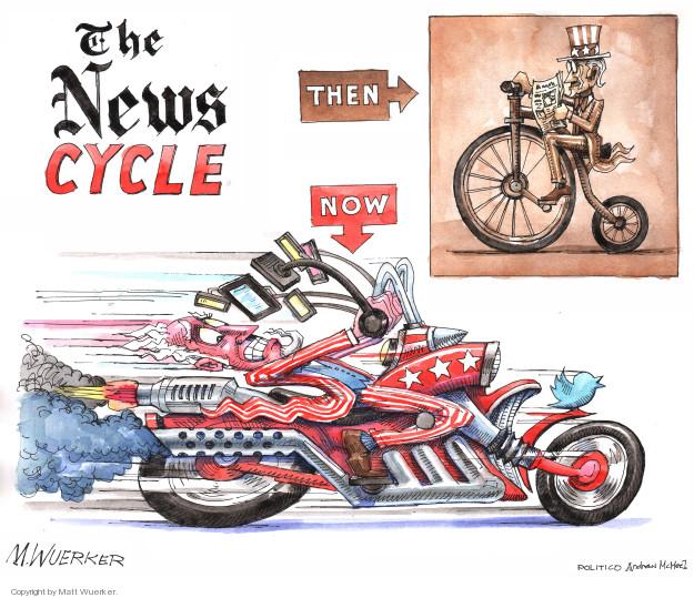 Cartoonist Matt Wuerker  Matt Wuerker's Editorial Cartoons 2018-03-30 reporter