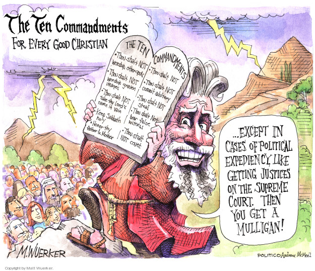 Cartoonist Matt Wuerker  Matt Wuerker's Editorial Cartoons 2018-04-05 christianity