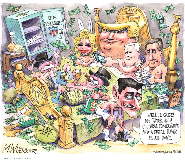 Cartoonist Matt Wuerker  Matt Wuerker's Editorial Cartoons 2018-04-16 president
