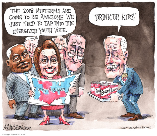Cartoonist Matt Wuerker  Matt Wuerker's Editorial Cartoons 2018-04-18 former president