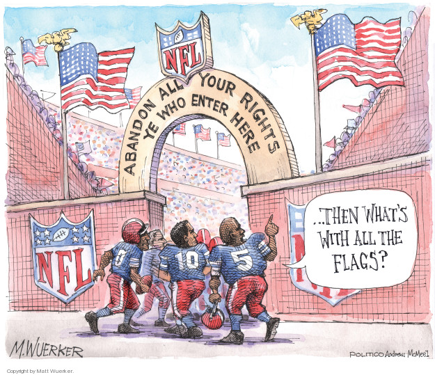 Cartoonist Matt Wuerker  Matt Wuerker's Editorial Cartoons 2018-05-25 patriotism