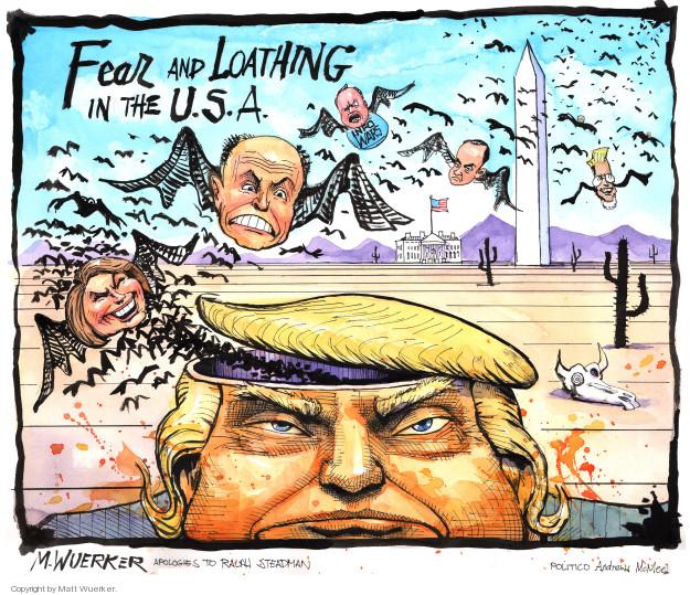 Matt Wuerker  Matt Wuerker's Editorial Cartoons 2018-06-01 former president