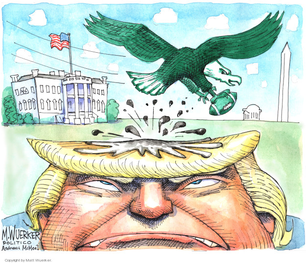Cartoonist Matt Wuerker  Matt Wuerker's Editorial Cartoons 2018-06-06 national anthem