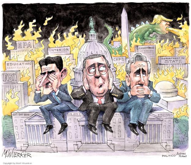 Cartoonist Matt Wuerker  Matt Wuerker's Editorial Cartoons 2018-06-21 Paul