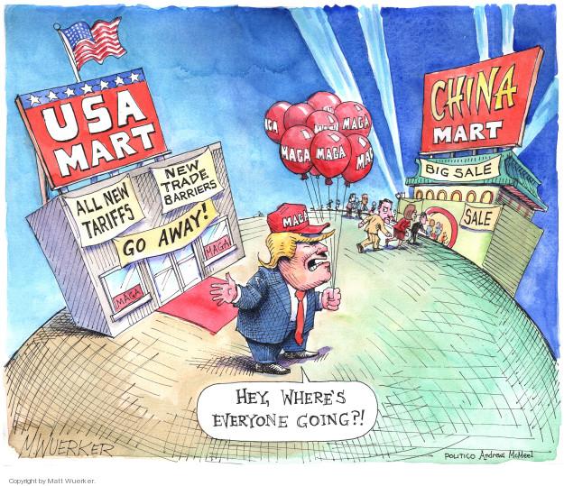 Matt Wuerker  Matt Wuerker's Editorial Cartoons 2018-06-27 American president