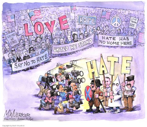 Cartoonist Matt Wuerker  Matt Wuerker's Editorial Cartoons 2018-08-14 coverage