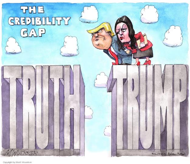 The Credibility Gap. Truth. Trump.