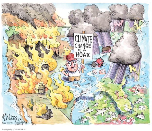 Cartoonist Matt Wuerker  Matt Wuerker's Editorial Cartoons 2018-08-17 forest fire